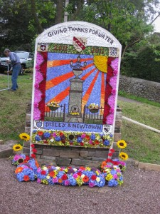 Disley & Newtown Well Dressing