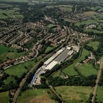 Aerial View of Disley