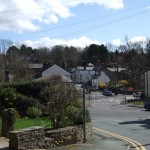 Village Centre from Jacksons Edge